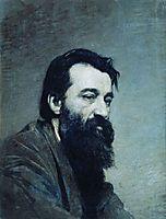 Portrait of Sergey Nikolaevich Amosov, c.1886, yaroshenko