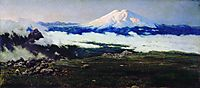 Sat-Mount (Mount Elbrus), 1884, yaroshenko