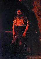 The Stoker, 1878, yaroshenko