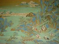 Emperor Minghuang-s Journey to Sichuan (detail), yingqiu