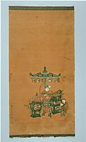 Scroll illustrating The Heart Sutra, 1543, yingqiu