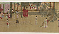 Spring Morning in the Han Palace (View E), 1530, yingqiu