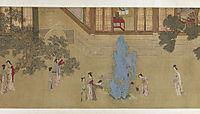 Spring Morning in the Han Palace (View D), 1530, yingqiu