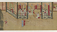 Spring Morning in the Han Palace (View I), 1530, yingqiu