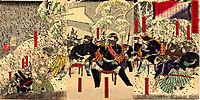 Japanese war in Kagoshima, 1879, yoshitoshi