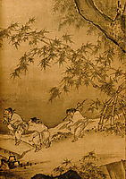Dancing and Singing (Peasants Returning from Work) (detail 3), yuan