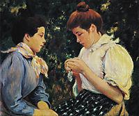 Crochet lesson, zandomeneghi