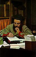 Portrait of M. Diego Martelli, 1879, zandomeneghi