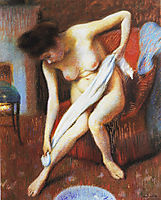Woman Drying Herself, c.1898, zandomeneghi