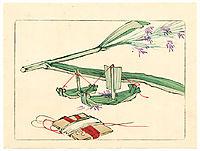 Model Boat - Hana Kurabe, 1878, zeshin