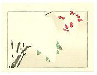 Nandin Tree - Hana Kurabe, 1890, zeshin