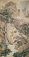 Lofty Mount Lu, 1467, zhoushen