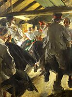 Dance in Gopsmor, 1906, zorn