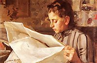 Emma Zorn, reading, zorn