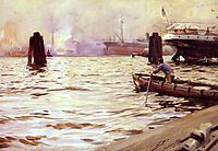 Hamburg Harbour, 1891, zorn