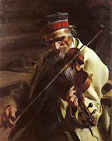 Hins Anders, 1904, zorn
