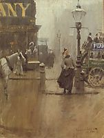 Impressions of London, 1890, zorn