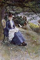 In Scotland (Mrs. Symons), 1887, zorn
