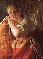 Margit, 1891, zorn