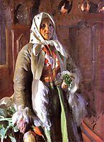 Mona, 1898, zorn