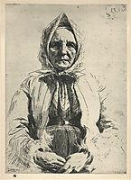 Mona, 1911, zorn