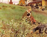 The Mora Fair, 1892, zorn