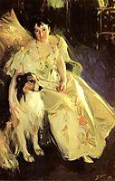 Mrs Bacon, 1897, zorn