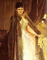Mrs Symons, 1888, zorn