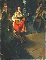 A Musical Family, 1905, zorn