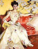 Portrait of Elizabeth Sherman Cameron, 1900, zorn