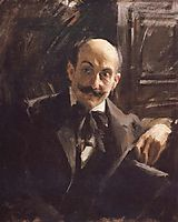 Portrait of Max Liebermann, 1891, zorn