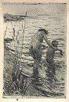 A premiere, 1890, zorn