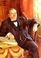 President Grover Cleveland, 1899, zorn