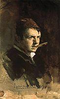 Self-portrait, 1882, zorn