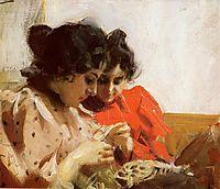 Spetssom, 1894, zorn
