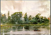 Study of Landscape in Richmond, 1882, zorn