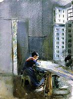 Wallpaper Factory, 1884, zorn