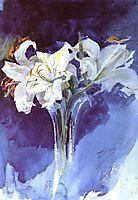 White Lilies, zorn