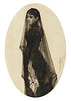 The widow, zorn