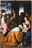 Adoration of the Magi, 1640, zurbaran