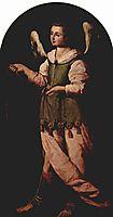 Angel with Incense, c.1638, zurbaran
