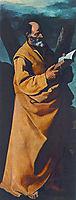 Apostle St. Andrew, 1631, zurbaran