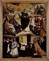 Apotheosis of St. Thomas Aquinas, 1631, zurbaran
