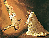 Appearance of St. Peter to St. Peter Nolasco , 1629, zurbaran