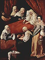 Birth of the Virgin, 1629, zurbaran