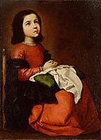 The Childhood of the Virgin, c.1660, zurbaran