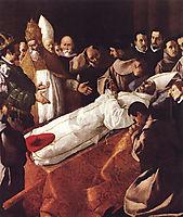 The Death of St. Bonaventura, 1629, zurbaran