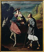 Flight into Egypt, zurbaran