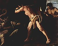 Hercules Fighting with the Lernaean Hydra, 1634, zurbaran