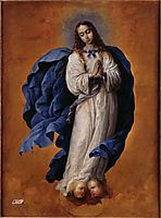 The Immaculate Conception, zurbaran